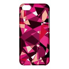 Red broken glass Apple iPhone 5C Hardshell Case