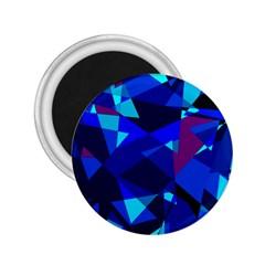 Blue broken glass 2.25  Magnets