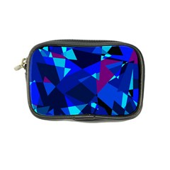Blue broken glass Coin Purse