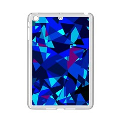 Blue broken glass iPad Mini 2 Enamel Coated Cases