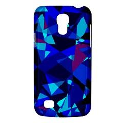 Blue broken glass Galaxy S4 Mini