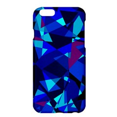 Blue broken glass Apple iPhone 6 Plus/6S Plus Hardshell Case
