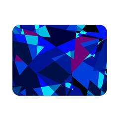Blue broken glass Double Sided Flano Blanket (Mini)