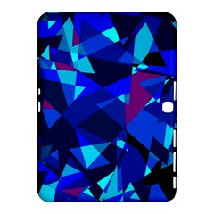 Blue broken glass Samsung Galaxy Tab 4 (10.1 ) Hardshell Case