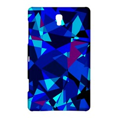 Blue broken glass Samsung Galaxy Tab S (8.4 ) Hardshell Case