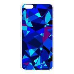 Blue broken glass Apple Seamless iPhone 6 Plus/6S Plus Case (Transparent)