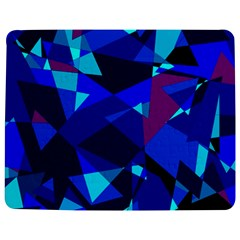 Blue broken glass Jigsaw Puzzle Photo Stand (Rectangular)
