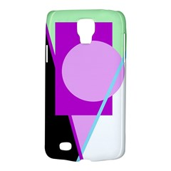 Purple geometric design Galaxy S4 Active