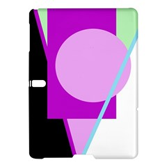 Purple geometric design Samsung Galaxy Tab S (10.5 ) Hardshell Case