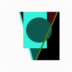 Geometric abstract design Collage Prints