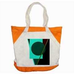 Geometric abstract design Accent Tote Bag