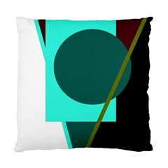 Geometric abstract design Standard Cushion Case (Two Sides)