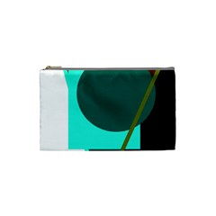 Geometric abstract design Cosmetic Bag (Small)