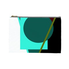 Geometric abstract design Cosmetic Bag (Large)