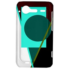Geometric abstract design HTC Incredible S Hardshell Case
