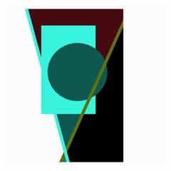 Geometric abstract design Small Garden Flag (Two Sides)