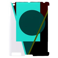 Geometric abstract design Apple iPad 2 Hardshell Case (Compatible with Smart Cover)