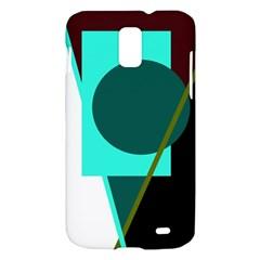 Geometric abstract design Samsung Galaxy S II Skyrocket Hardshell Case