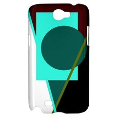 Geometric abstract design Samsung Galaxy Note 2 Hardshell Case