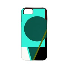 Geometric abstract design Apple iPhone 5 Classic Hardshell Case (PC+Silicone)
