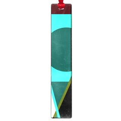 Geometric abstract design Large Book Marks