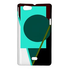 Geometric abstract design Sony Xperia Miro