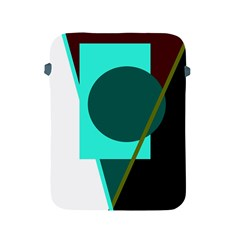 Geometric abstract design Apple iPad 2/3/4 Protective Soft Cases
