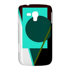 Geometric abstract design Samsung Galaxy Duos I8262 Hardshell Case
