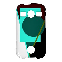 Geometric abstract design Samsung Galaxy S7710 Xcover 2 Hardshell Case