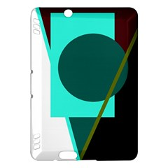Geometric abstract design Kindle Fire HDX Hardshell Case