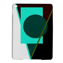 Geometric abstract design iPad Air 2 Hardshell Cases