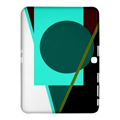 Geometric abstract design Samsung Galaxy Tab 4 (10.1 ) Hardshell Case