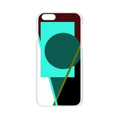 Geometric abstract design Apple Seamless iPhone 6/6S Case (Transparent)