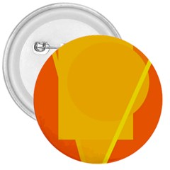 Orange abstract design 3  Buttons