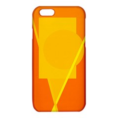 Orange abstract design iPhone 6/6S TPU Case