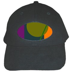 Geometric abstraction Black Cap