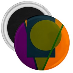 Geometric abstraction 3  Magnets