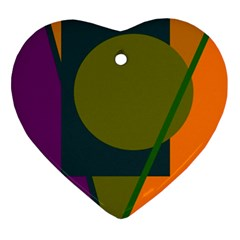 Geometric abstraction Ornament (Heart)