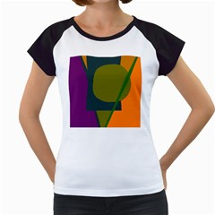 Geometric abstraction Women s Cap Sleeve T