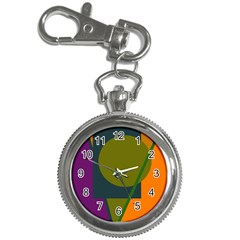 Geometric abstraction Key Chain Watches