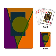 Geometric abstraction Playing Card