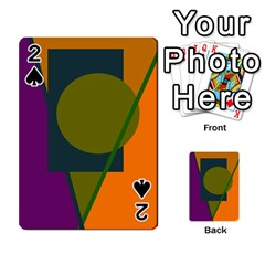 Geometric abstraction Playing Cards 54 Designs