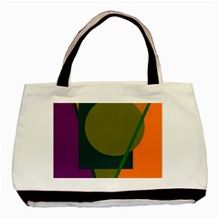 Geometric abstraction Basic Tote Bag