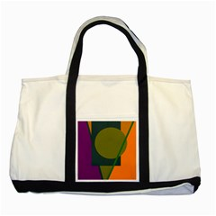 Geometric abstraction Two Tone Tote Bag
