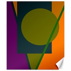 Geometric abstraction Canvas 8  x 10