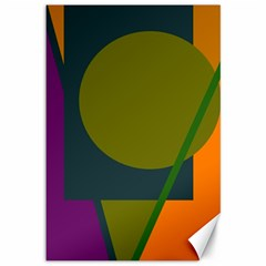 Geometric abstraction Canvas 12  x 18