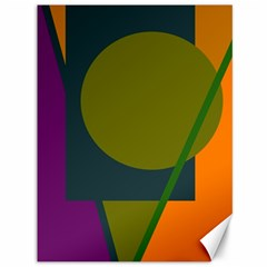 Geometric abstraction Canvas 36  x 48