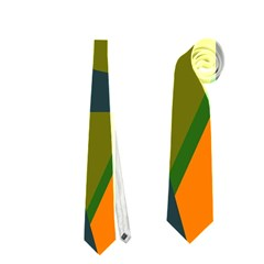 Geometric abstraction Neckties (Two Side)