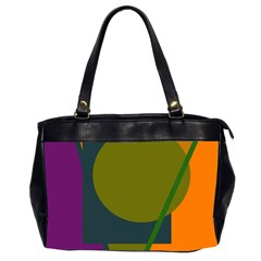 Geometric abstraction Office Handbags (2 Sides)