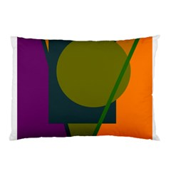 Geometric abstraction Pillow Case (Two Sides)